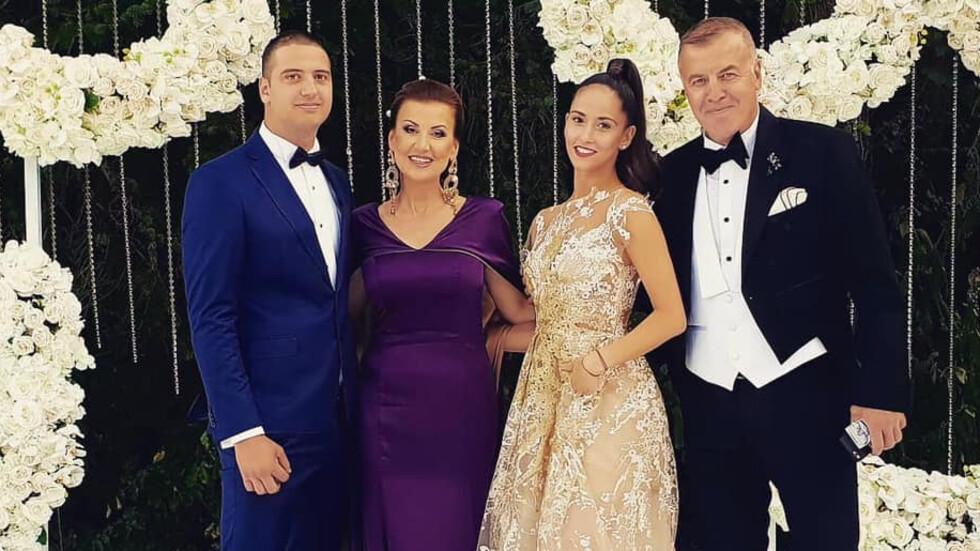 По холивудски Наско Сираков и Илияна Раева омъжиха малката си дъщеря.