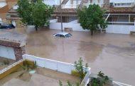 Испания е във водно бедствие. Трима загинали и много материални щети.
