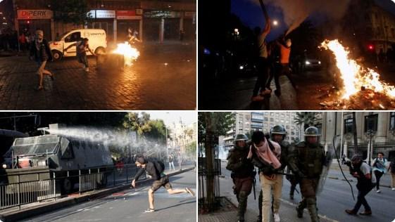 Правителството отстъпи след протестите в Чили и отмени поскъпването на билета за метрото.