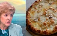 Менда Стоянова готви пица с пармезан и шунка