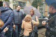 Мая Манолова се включи в протеста срещу избора на Гешев за главен прокурор.
