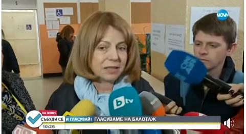 Йорданка Фандъкова: Научих си урока, продължавам да работя за София