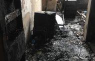 Голям пожар в Пирогов. Ето как изглежда опожарената стая