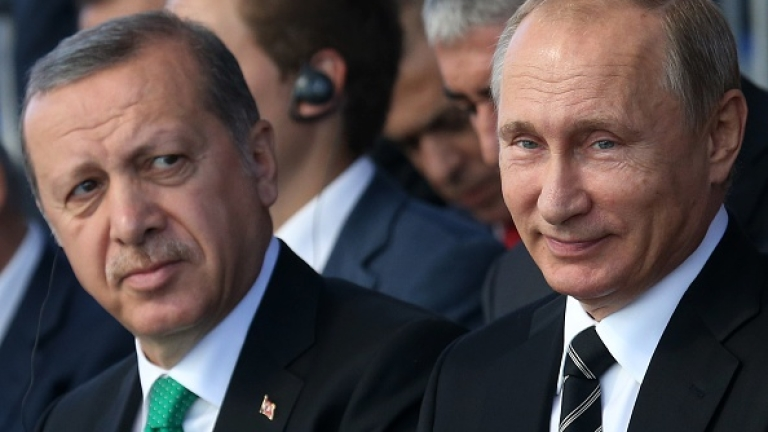 """Ердоган покани Путин на 8 януари в Турция за откриването на """"Турски поток """". Путин прие."""