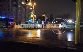 """Автомобил на НСО удари 14-годишно дете на бул. """"Драган Цанков""""."""