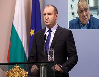 Президентът е всичко, което Борисов и шайката му не са