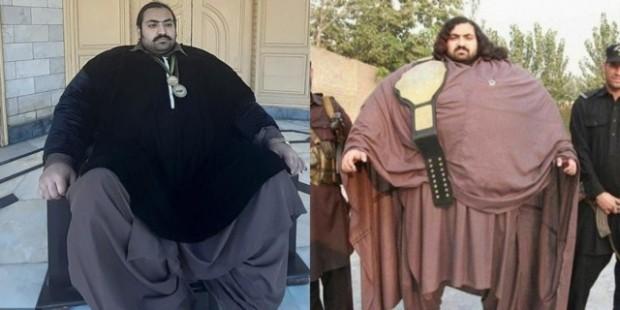 Човекът с прозвище Пакистанския хълк си търси жена над 100 килограма и над 1.95 висока, за да не я смачка!