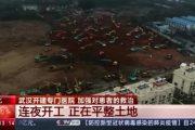 Китайското чудо: Как за 6 дни в дните на епидемична криза се строи нова болница