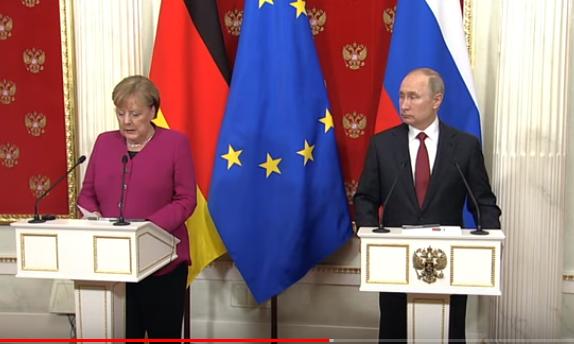 Меркел събира Путин, Ердоган и Помпео в Берлин, за да се реши проблема проблема в Либия.