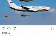 Ето как лети Путин от Дамаск