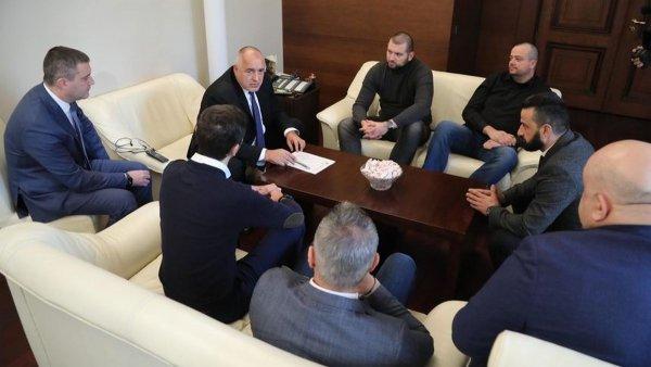 """Агитките на """"Левски """" пристанаха на властелина на държавата Борисов! """"Няма да браним корпоративни интереси!"""""""