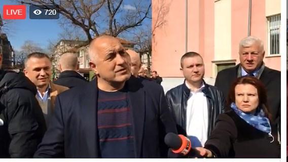 """Борисов от Пловдив: """"Подготвям една голяма среща в България"""""""