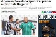СРАМ! Премиерът Бойко Борисов е разследван в Барселона за пране на пари и за това обвини президента Радев!