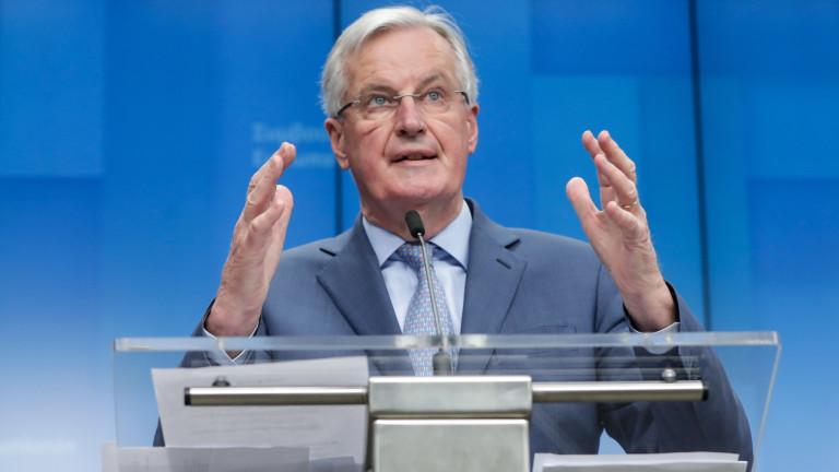 Мишел Барние, преговарящия с Великобритания за Брекзит, е заразен с COVID – 19!