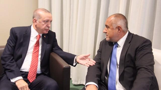 Реджеп Ердоган към Бойко Борисов: Е добре, убеди ме!