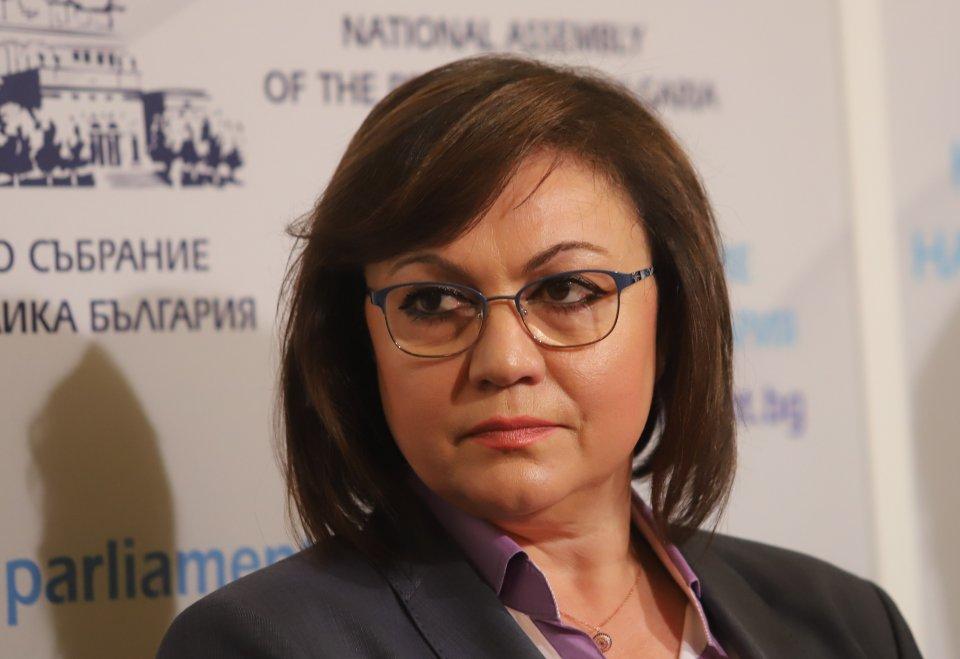 Корнелия Нинова в атака срещу щаба на Мутафчийски и Борисов.