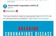 Световната здравна организация: Коронавирусът е пандемия