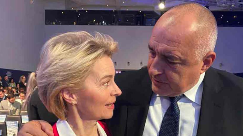 Бойко Борисов и Урсула фон дер Лайен се чуха по телефона за обстановката в Сирия и ситуацията с мигрантите