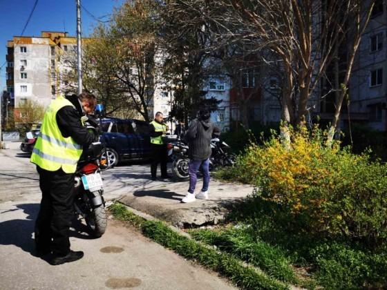 Нечувано! 155 акта от по 5000 лева състави пловдивската полиция днес за неспазване на новите мерки