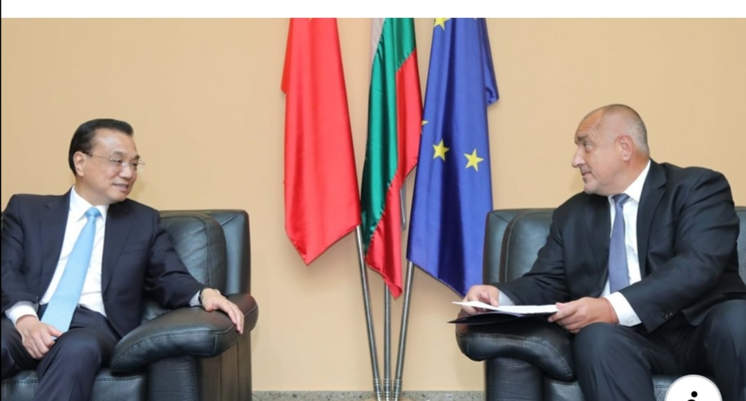 Бойко Борисов разговаря с китайския премиер Ли Къцян