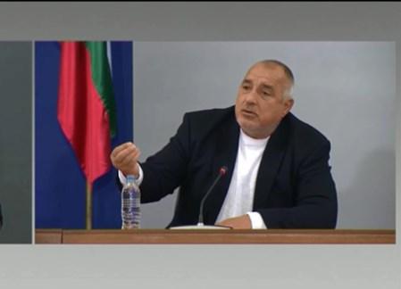 Жесток скандал между журналисти в Министерски съвет с участието на Борисов!