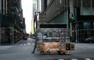 Пусто и призрачно в Ню Йорк