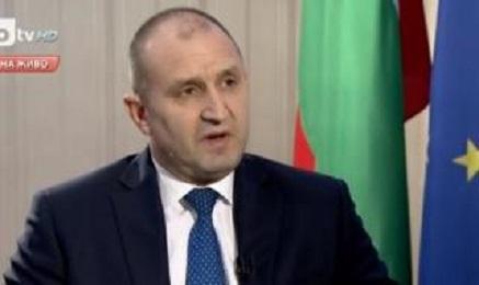 Президентът Радев: Не е време за емоции, избухвания и сърдити пози, в този спектакъл аз няма да участвам