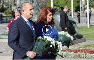 За разлика от Борисов, президентът Радев не се скри в деня на Европа.