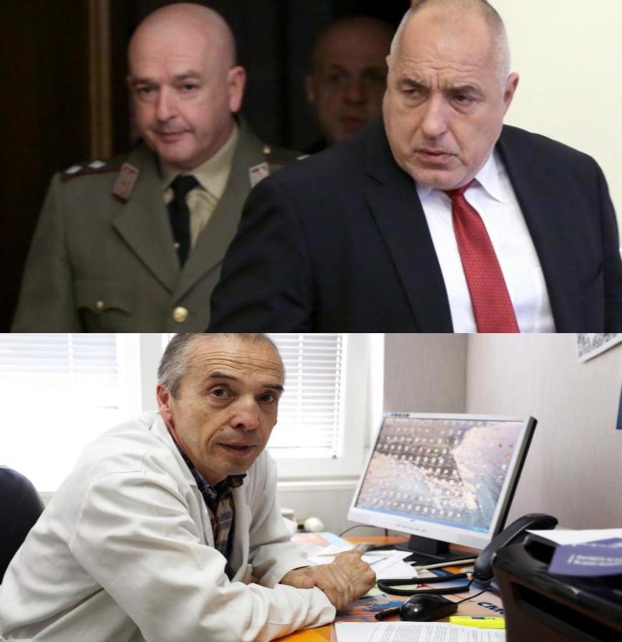"""Борисов разкри """"връзкарството"""" на Мутафчийски. Явно вече специалистът е Мангъров."""