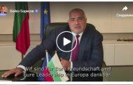 Премиерът Борисов научи и немски. Поздрави Меркел и го публикува във фейсбук!