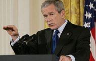 Буш подкрепи протестиращите и осъди опита за затваряне на устите им.