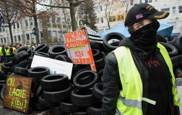 Париж се вдигна на протести след САЩ. 19 000 са по улиците.