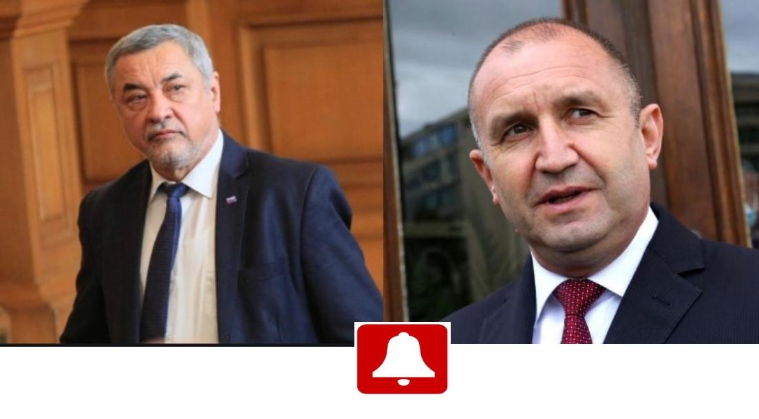 Валери Симеонов не одобрява поведението на президента Радев и взе страната на премиера Борисов