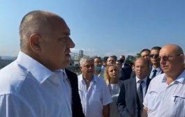 """Бойко Борисов на посещение в пречиствателна станция: """"Като сълза вода излиза"""""""