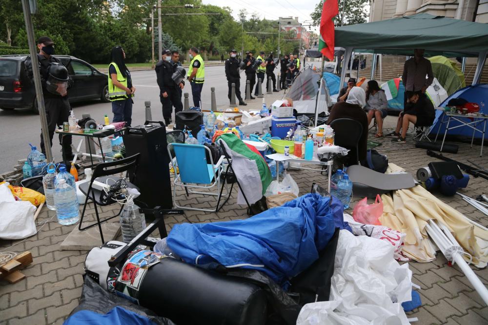 """Палатки – АУТ! От МВР обявиха: """"Няма да позволяваме повече блокиране на кръстовища"""""""