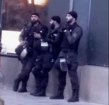 "Типовете на ""Делта""-та, ""дегизирани"" като жандармерия"