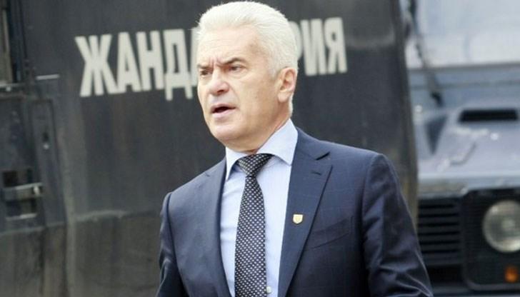 Волен Сидеров бе привикан в МВР за снемане на отпечатъци!