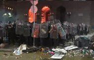 Бомби на протеста в София. Има ранени и задържани