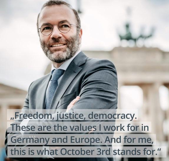 Г-н Вебер, предадохте нашата най-съкровена вяра в ЕС