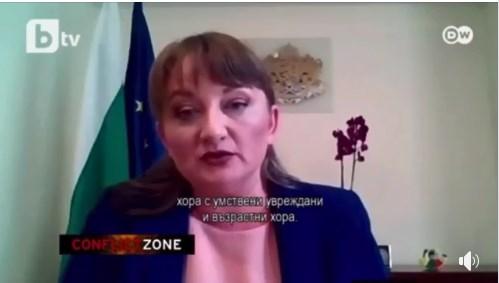 Когато не те интервюират български мисирки! Сачева изуми Дойче Веле с отговорите си!