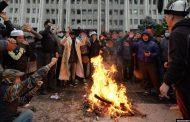 1500 киргизстански протестиращи нахлуха в парламента и анулираха избори, а в България си играят на Дама.