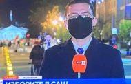 Александър Марков псува в ефир, защото са му се запотили очилата от маската. Той се извини на зрителите