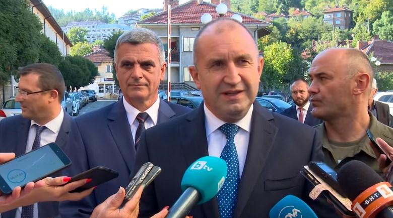 Президентът Румен Радев категорично: Македония ще влезе в ЕС, когато изкорени езика на омразата!