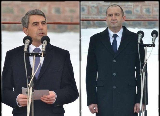 Росен Плевнелиев четящ от листче речта си няма никакво право да говори глупости срещу Президента Румен Радев.