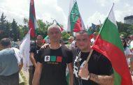 """Лидерите на национално движение """"Хан Кубрат """" и партия """"Възраждане """" Веселин Костов и Костадин Костадинов организираха шествие в чест на Дунавска България!"""