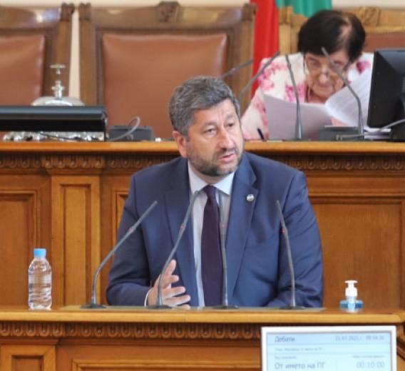 Христо Иванов от трибуната: Нямаме ясна формула как да съставим следващото управление, а страната е в криза