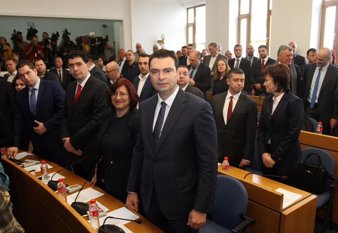 Калоян Паргов: ГЕРБ не реши 15 г. проблема с водоснабдяването и канализацията в София