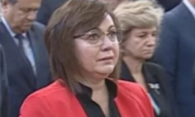 Нинова плакала на пленума заради Р. Овч.